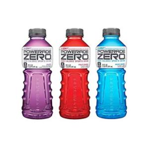 The Keto Kitchen Powerade Zero- Grape, Fruit Punch, Mixed Berry