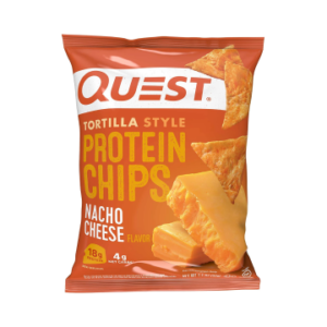 The Keto Kitchen Quest Protein Chips- Nacho Cheese Chips