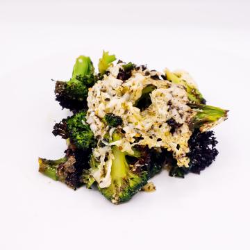The KETO Kitchen Broccoli Parm Bake