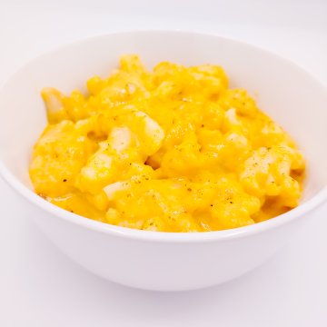 The KETO Kitchen Cauliflower Mac & Cheese