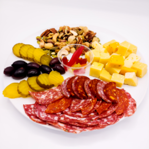 The KETO Kitchen Charcuterie Meal