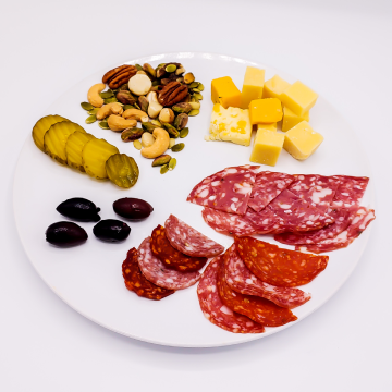 The KETO Kitchen Charcuterie Side