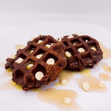 The KETO Kitchen Chocolate Waffle