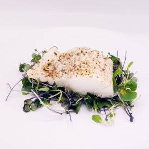 The KETO Kitchen Crusted Cod