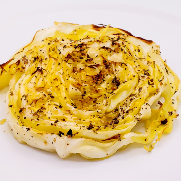The KETO Kitchen Roasted Cabbage