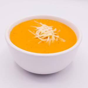 The KETO Kitchen Tomato Soup Side + Parm