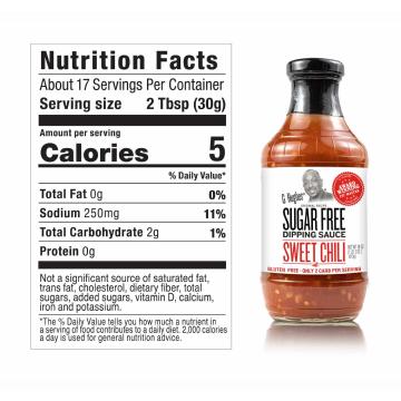 G- Hughes Sugar Free Sweet Chili Dipping Sauce