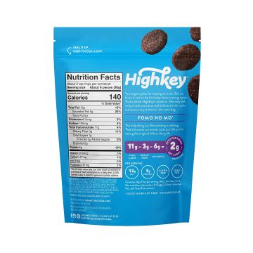 The KETO Kitchen Highkey Cookies- Brownies