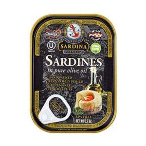 The Keto Kitchen Sardina Sardines