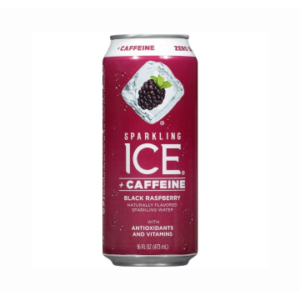 The KETO Kitchen Sparkling Ice Caffeine Black Raspberry