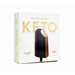 The KETO Kitchen Sea Salt KETO Ice Cream Bars