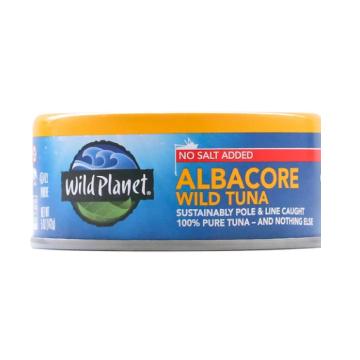 The KETO Kitchen Albacore Sustainable wild tuna
